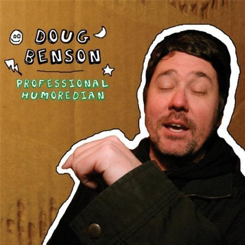 Load image into Gallery viewer, DOUG BENSON - PROFESSIONAL HUMOREDIAN - CD