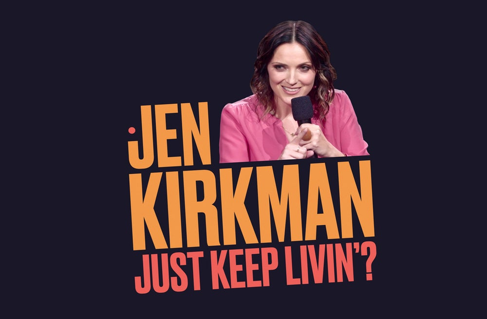 Load image into Gallery viewer, JEN KIRKMAN - JUST KEEP LIVIN'? - ALBUM DOWNLOAD + AUTOGRAPHED POSTER