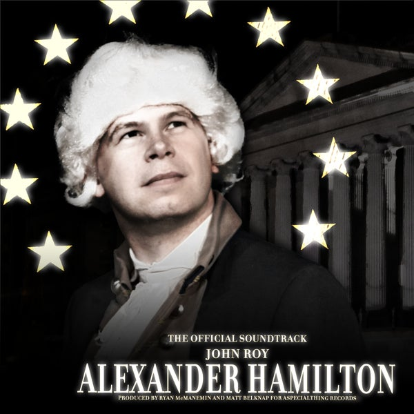 Load image into Gallery viewer, JOHN ROY - ALEXANDER HAMILTON - CD
