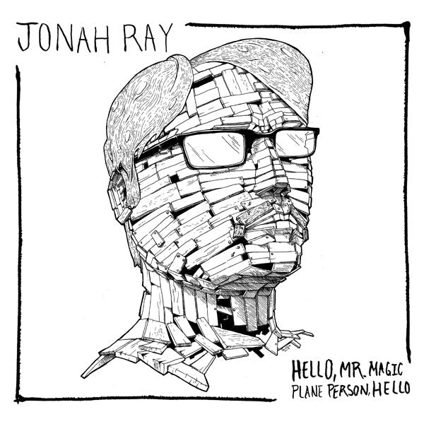 "Load image into Gallery viewer, JONAH RAY - HELLO, MR. MAGIC PLANE PERSON, HELLO - 10"" VINYL"