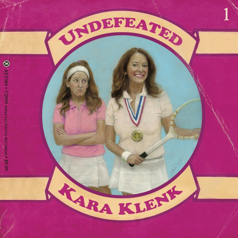 KARA KLENK - UNDEFEATED CD