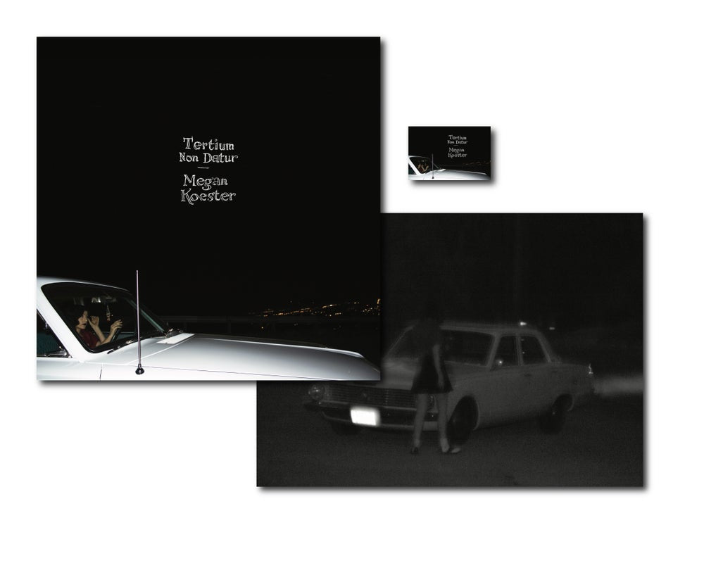Load image into Gallery viewer, MEGAN KOESTER - TERTIUM NON DATUR - RECORD JACKET & POSTER