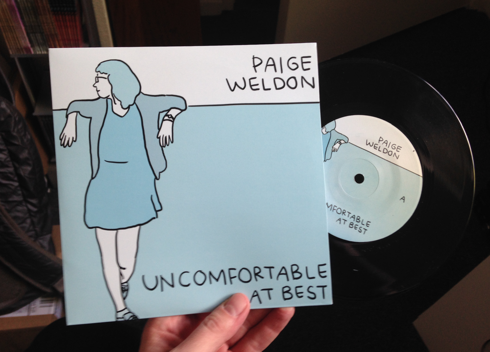 PAIGE WELDON - UNCOMFORTABLE AT BEST - 7