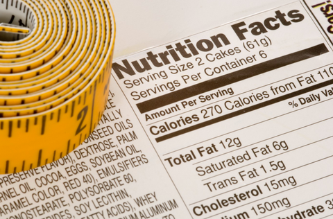 A close-up of a nutrition label. The Lazy Keto Diet: Ease Up and Transform Your Body