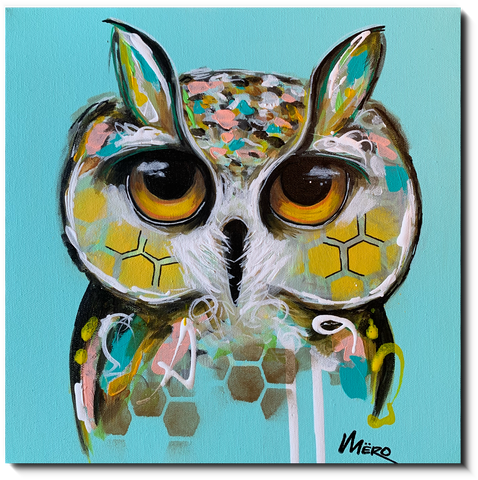 Toile galerie - Animaux | I'm watching you 019