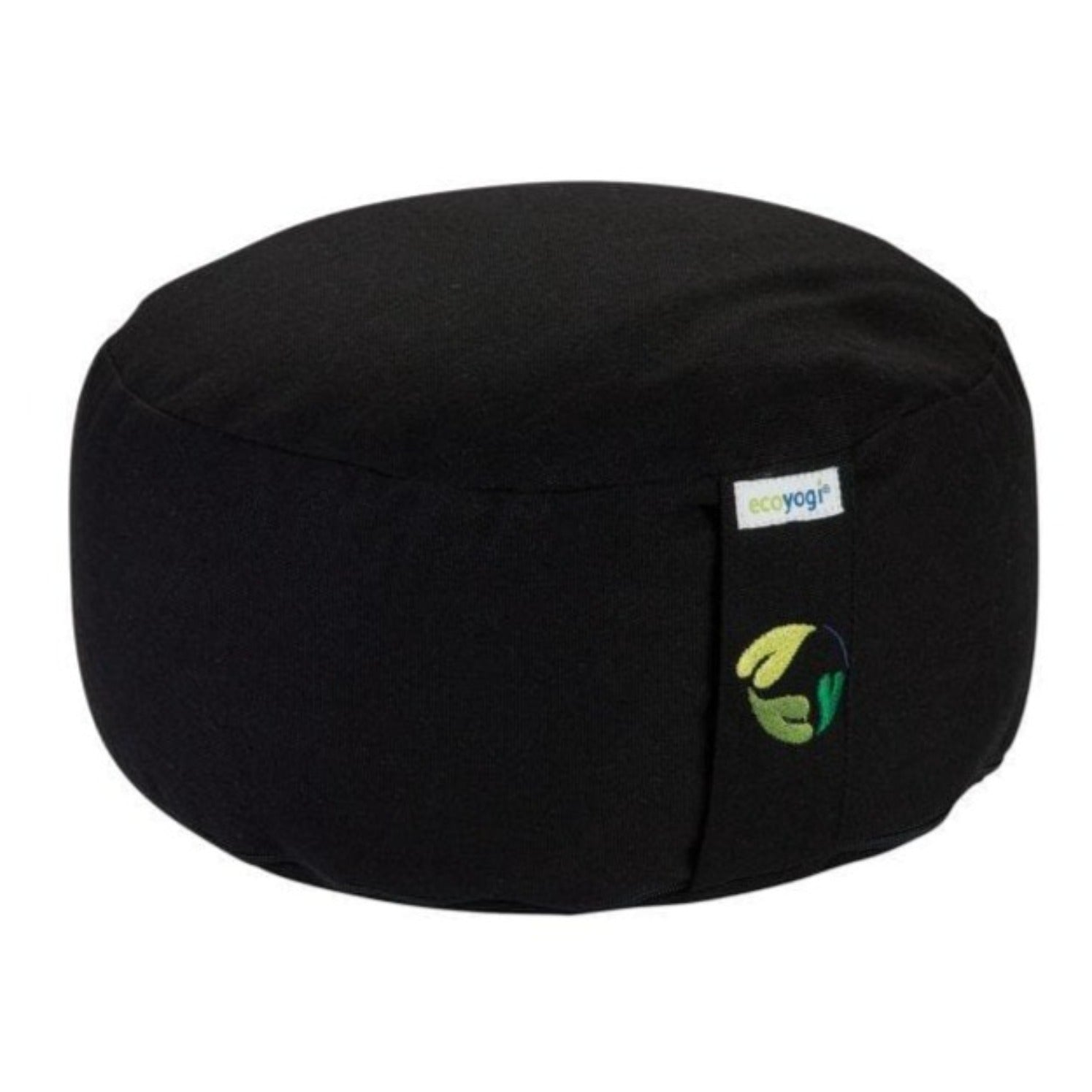 Organic cotton meditation cushion - black
