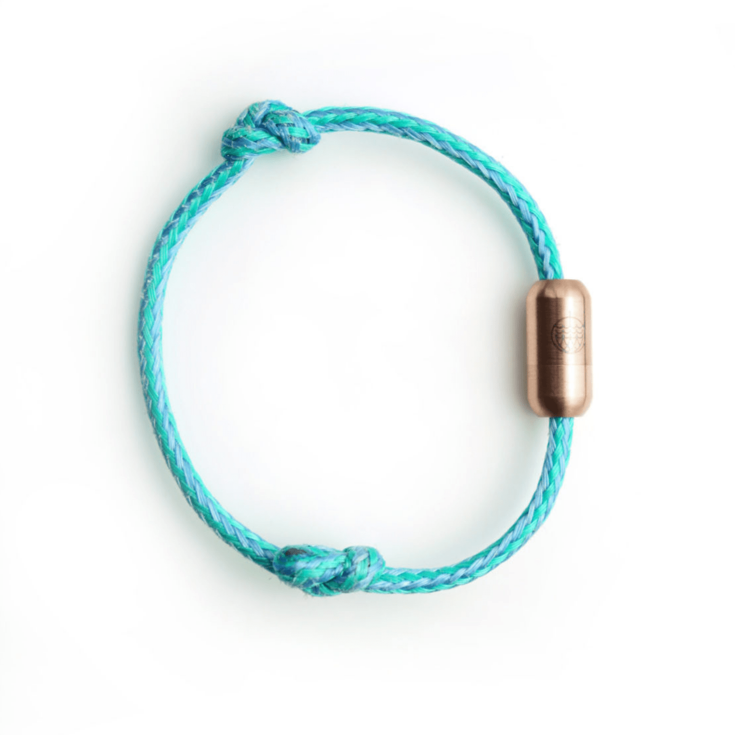 sustainable gifts Bracenet S (19cm) Upcycled fishing nets bracelet - North Sea II