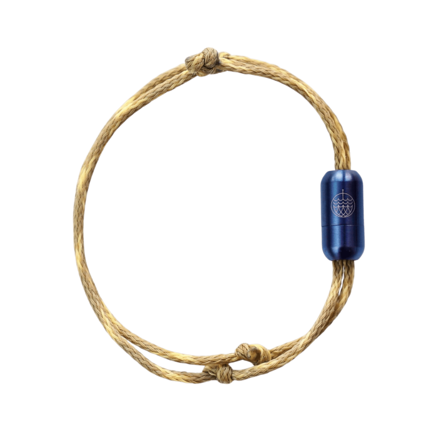 sustainable gifts Bracenet Upcycled fishing nets bracelet - Wadden Sea