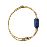 Bracenet bracelet Wadden sea with blue clasp