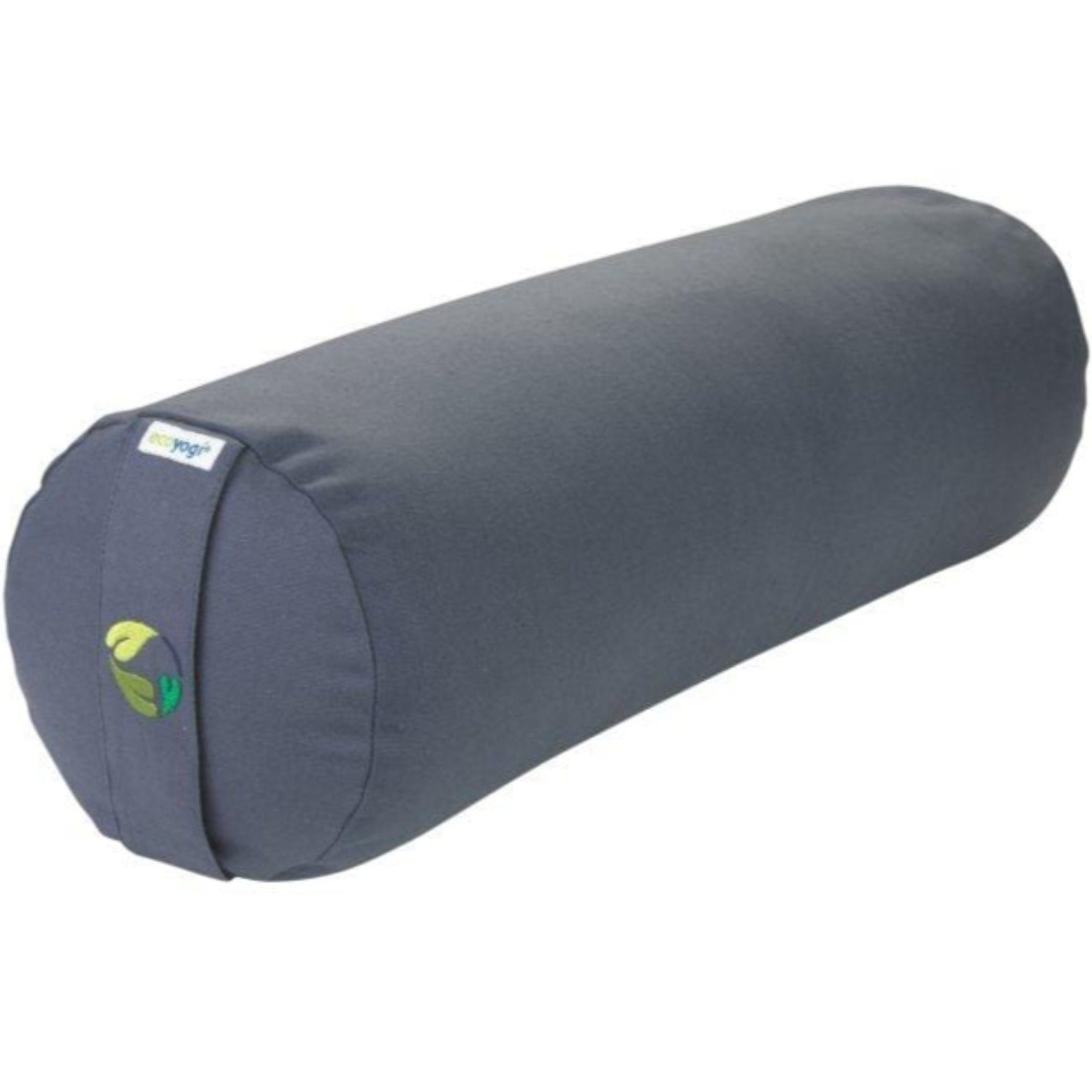 Organic cotton yoga bolster - grey