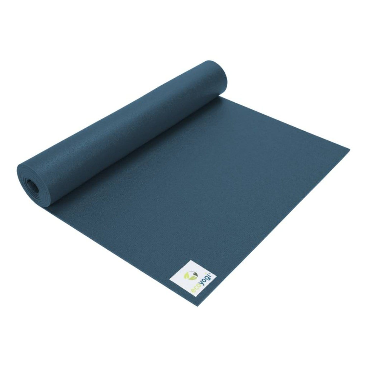 Emission free PVC yoga mat certified blue