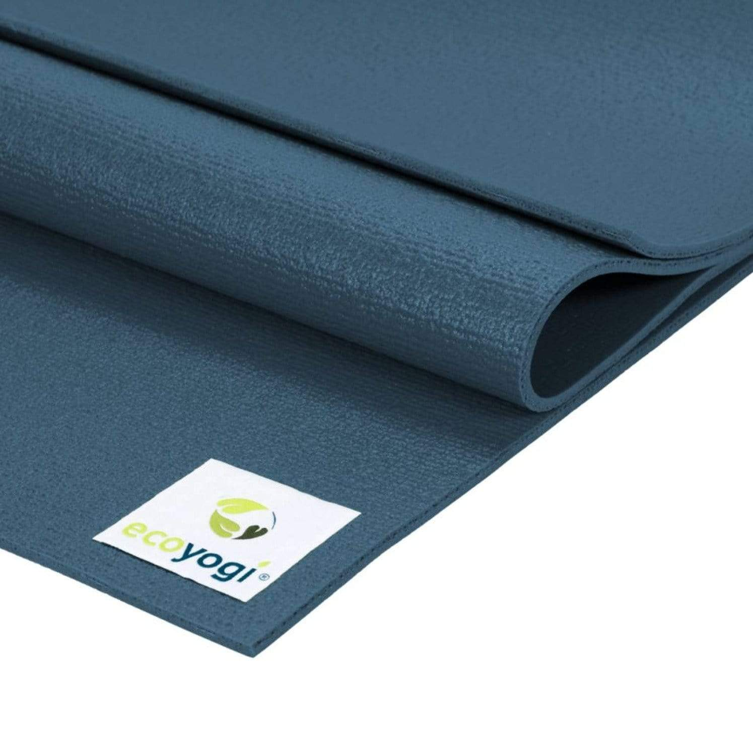 sustainable gifts Ecoyogi Blue Emission free yoga mat - blue