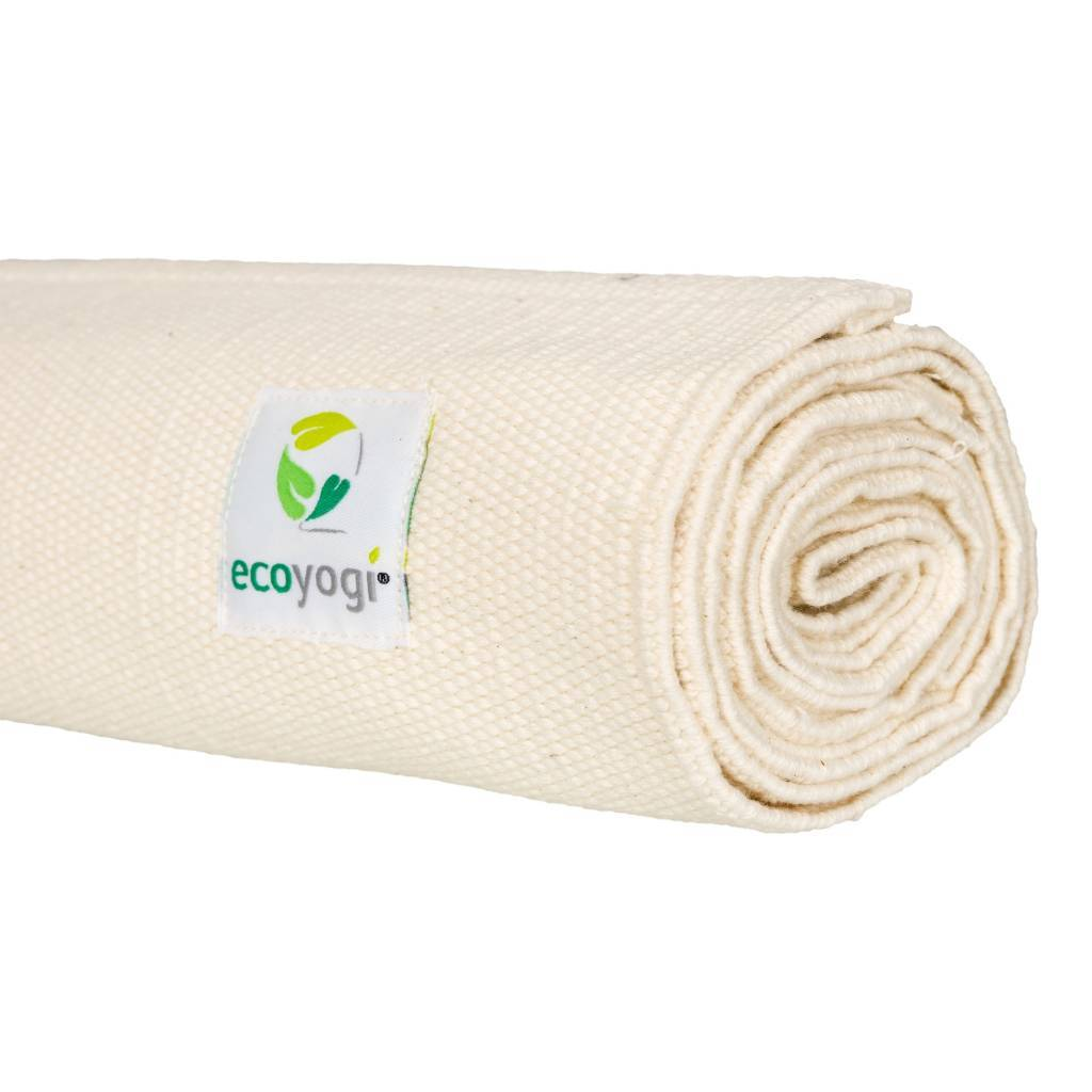sustainable gifts Ecoyogi Organic cotton yoga mat rug