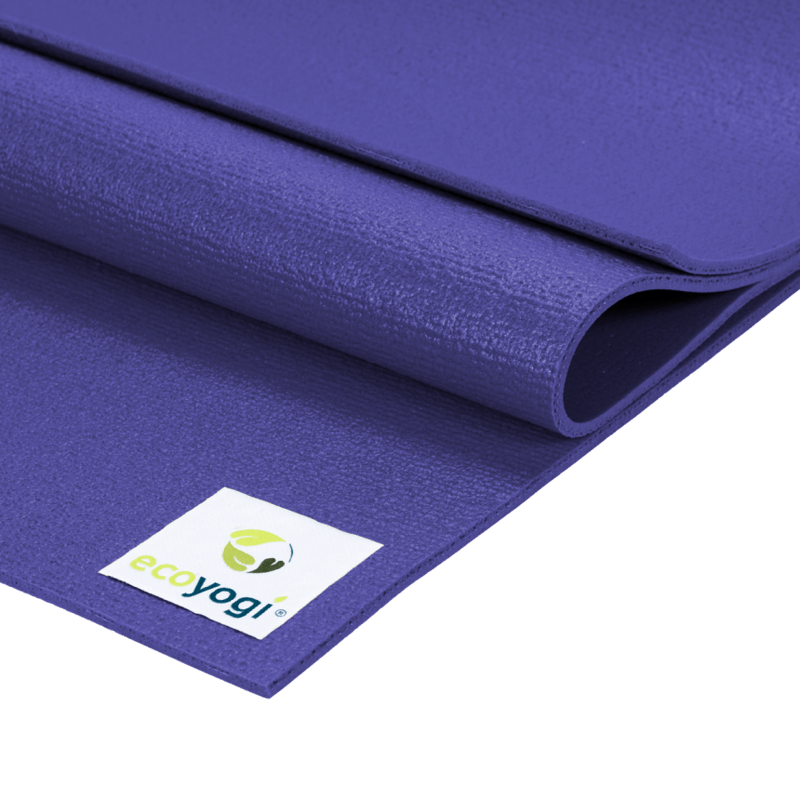 sustainable gifts Ecoyogi Purple Emission free yoga mat - purple