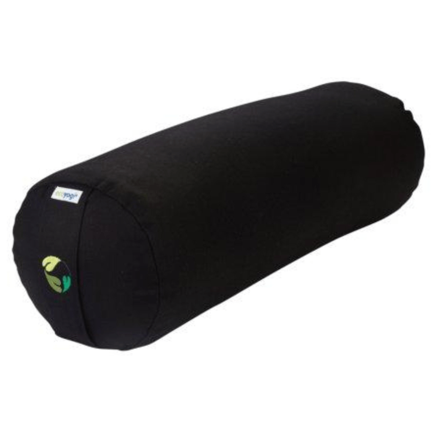 sustainable gifts Ecoyogi Black Organic cotton yoga bolster - black