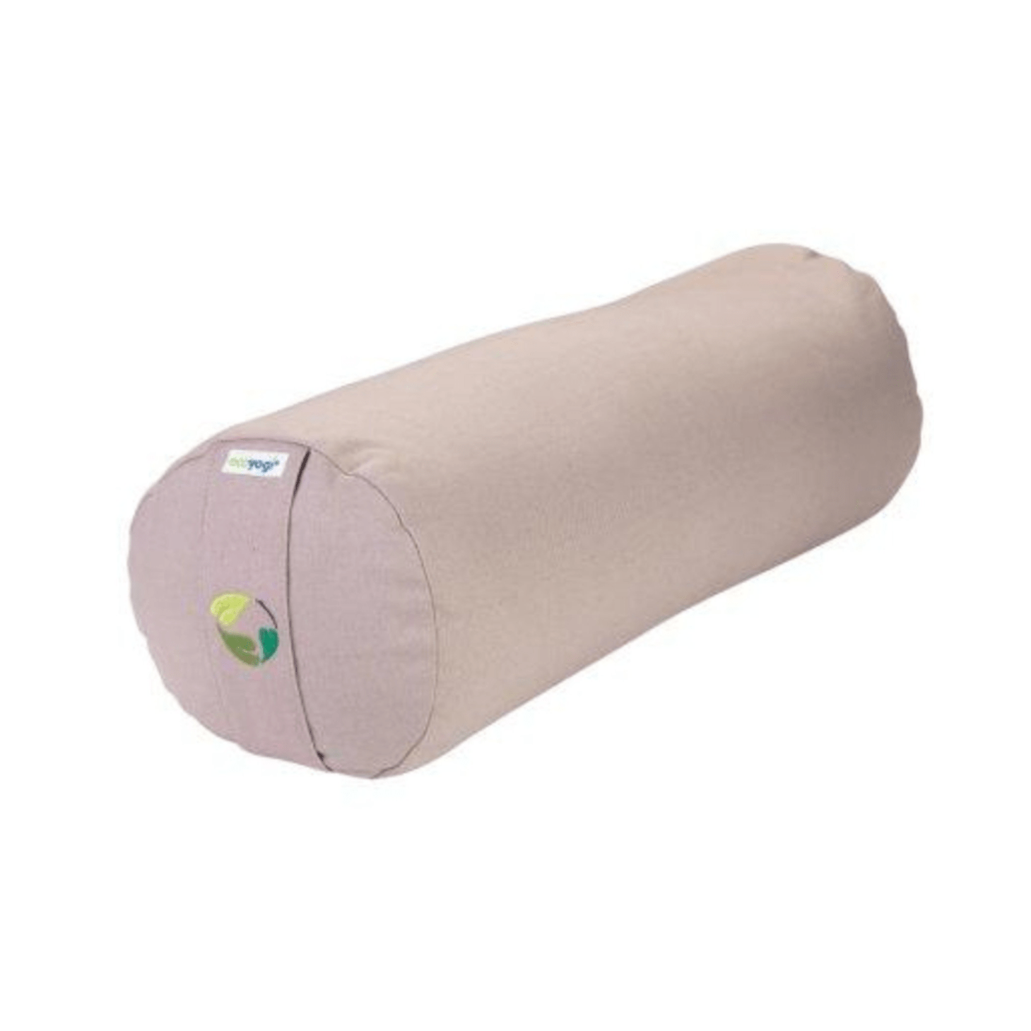 Sustainable yoga cushion in organic cotton GOTS certified with filling sand