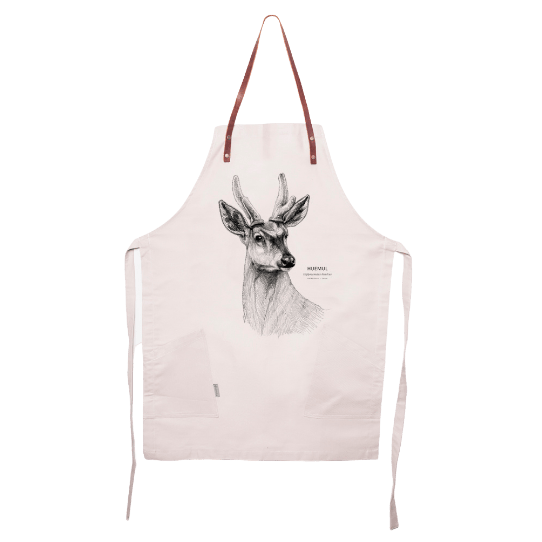 sustainable gifts Garuga Save the chilean deer - apron