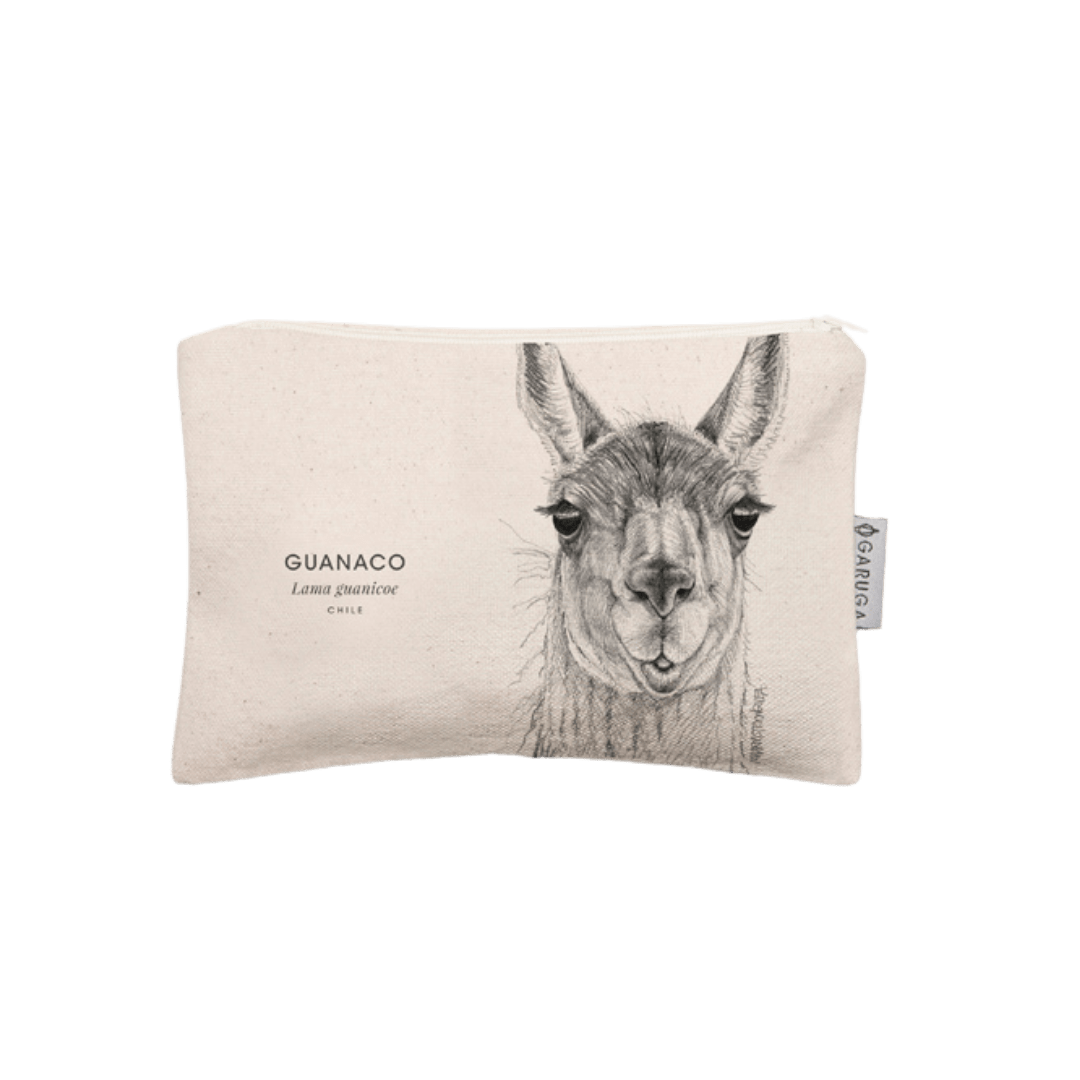 Sustainable gift Garuga case for conservation of guanaco in Patagonia