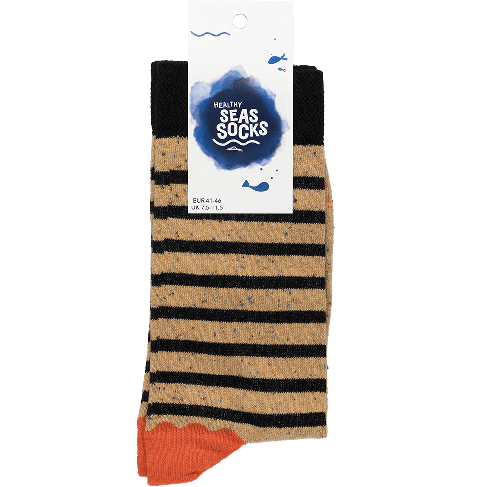 sustainable gifts Healthy Seas Socks Upcycled fishing nets men's socks -  Ukelei