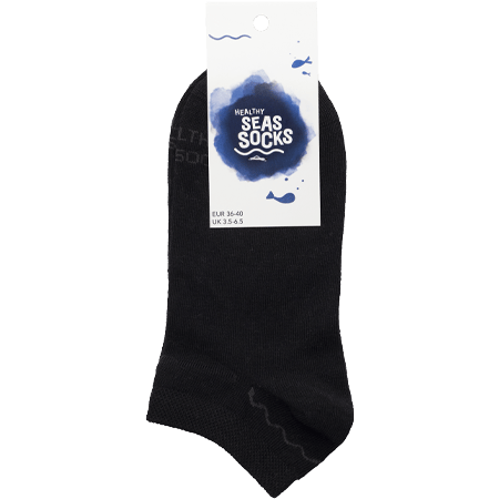 sustainable gifts Healthy Seas Socks Upcycled fishing nets sneaker socks - Nase