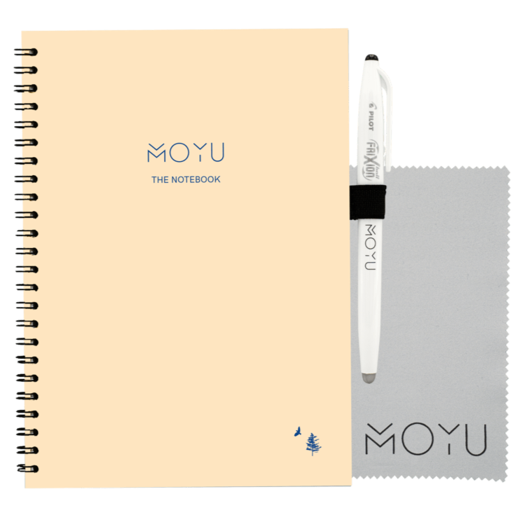 sustainable gifts MOYU Lifetime Notebook A5 - Dennis Storm x MOYU