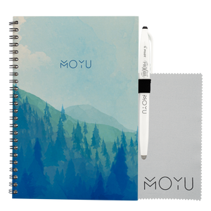 sustainable gifts MOYU Lifetime Notebook A5 - misty mountain