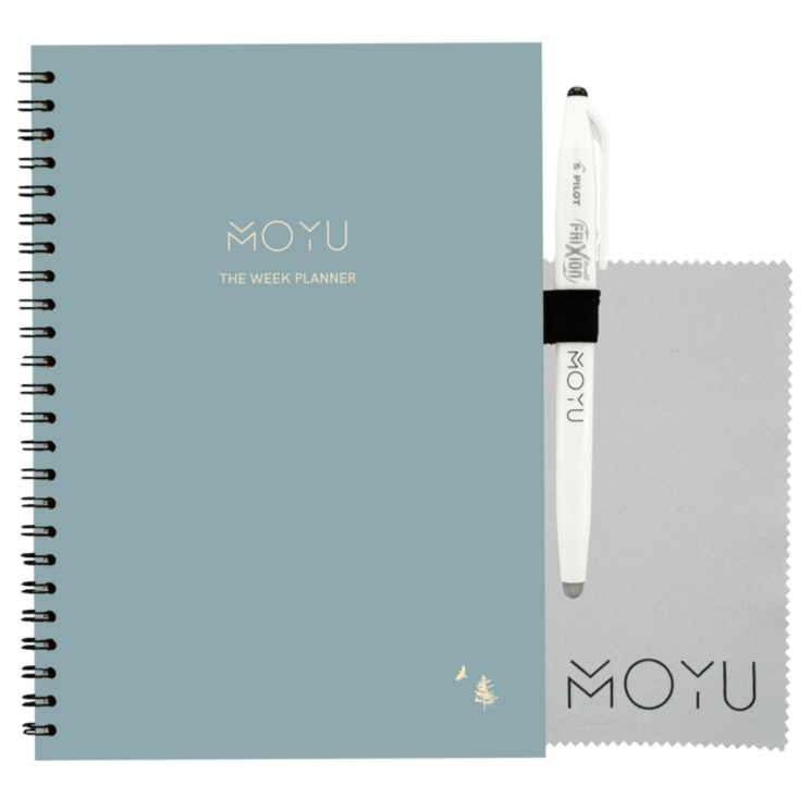 sustainable gifts MOYU Lifetime week planner - Dennis Storm x MOYU