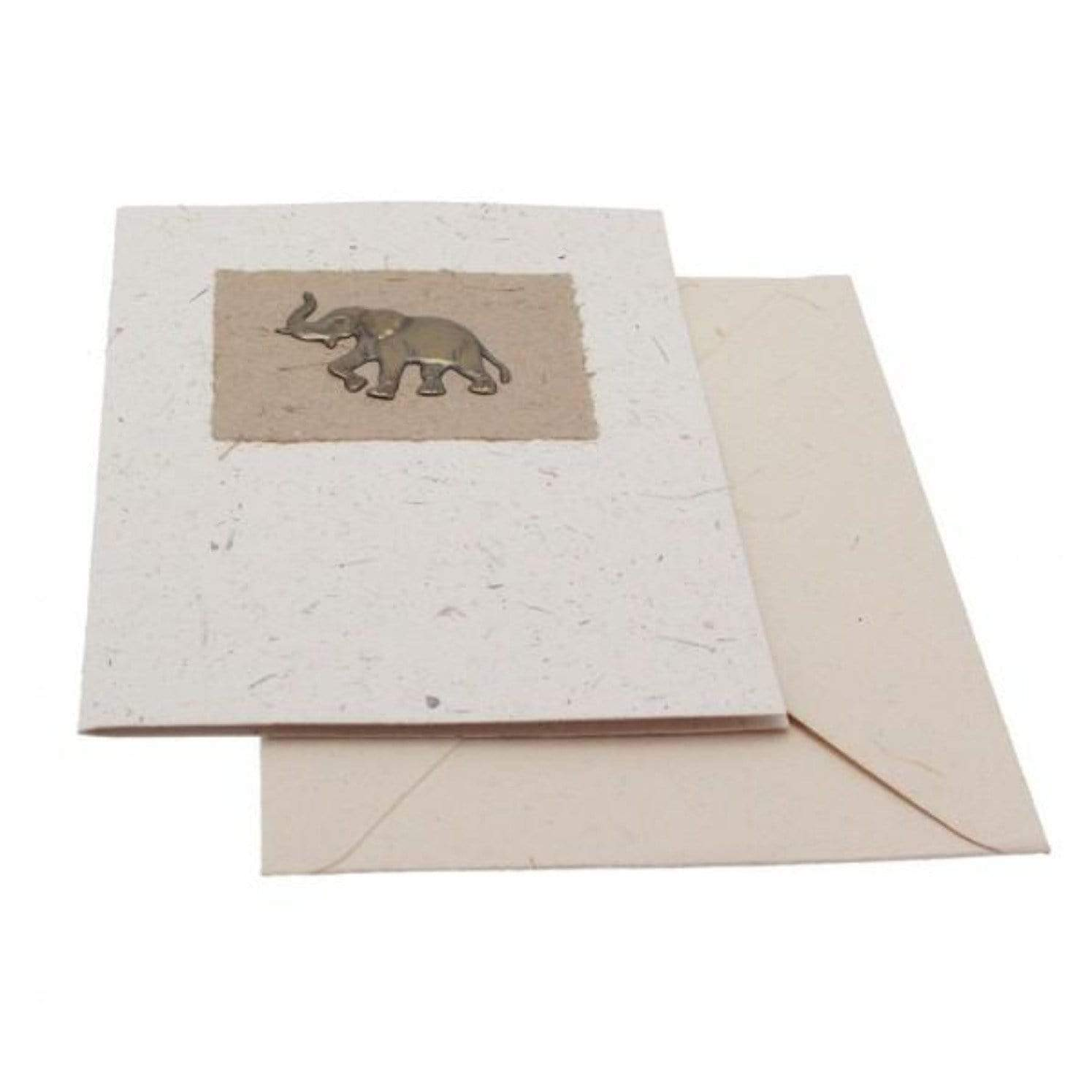 sustainable gifts Paper High Elephant dung greeting card