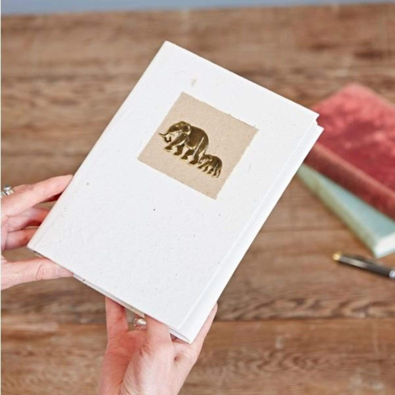 sustainable gifts Paper High Elephant dung notebook