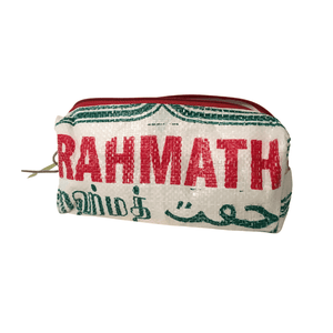 sustainable gifts Rice & Carry Upcycled rice sacks pencil case