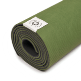 sustainable gifts Southern Shores Recycled plastic bottles yoga mat - forest green