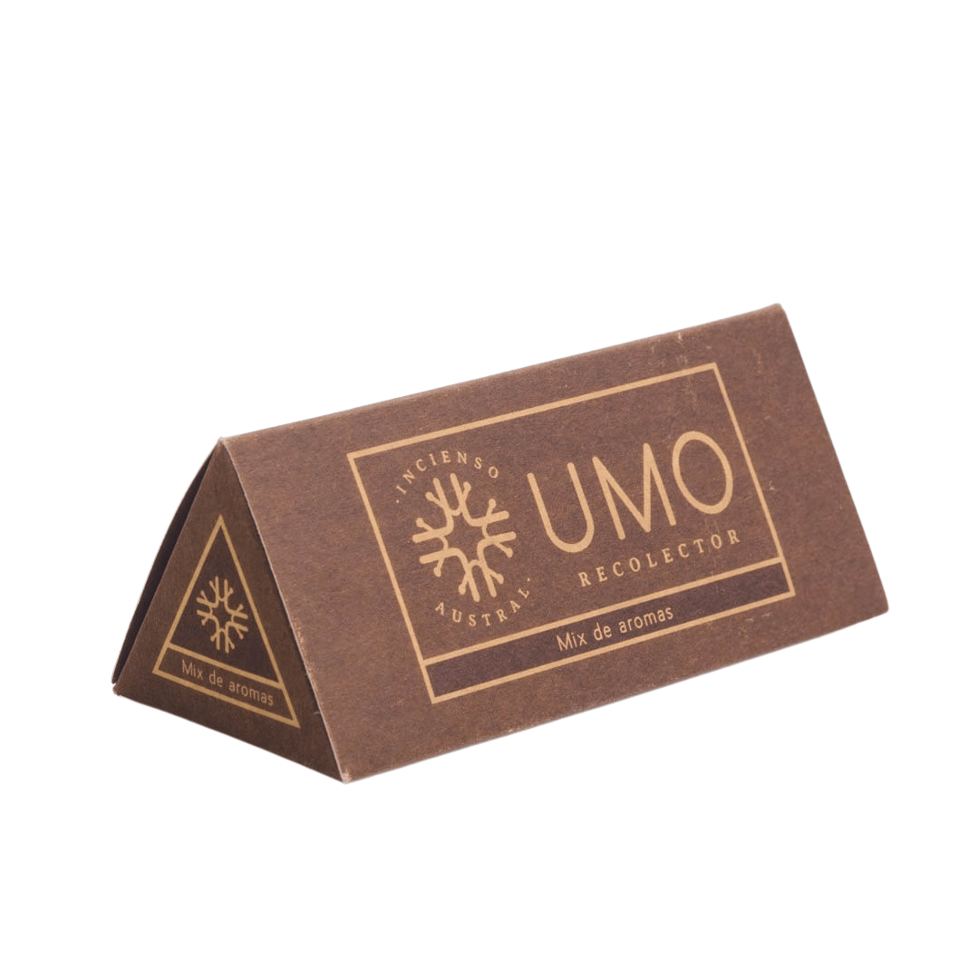 sustainable gifts Umo Recolector Sustainable natural incense - canelo mix (box of 6)