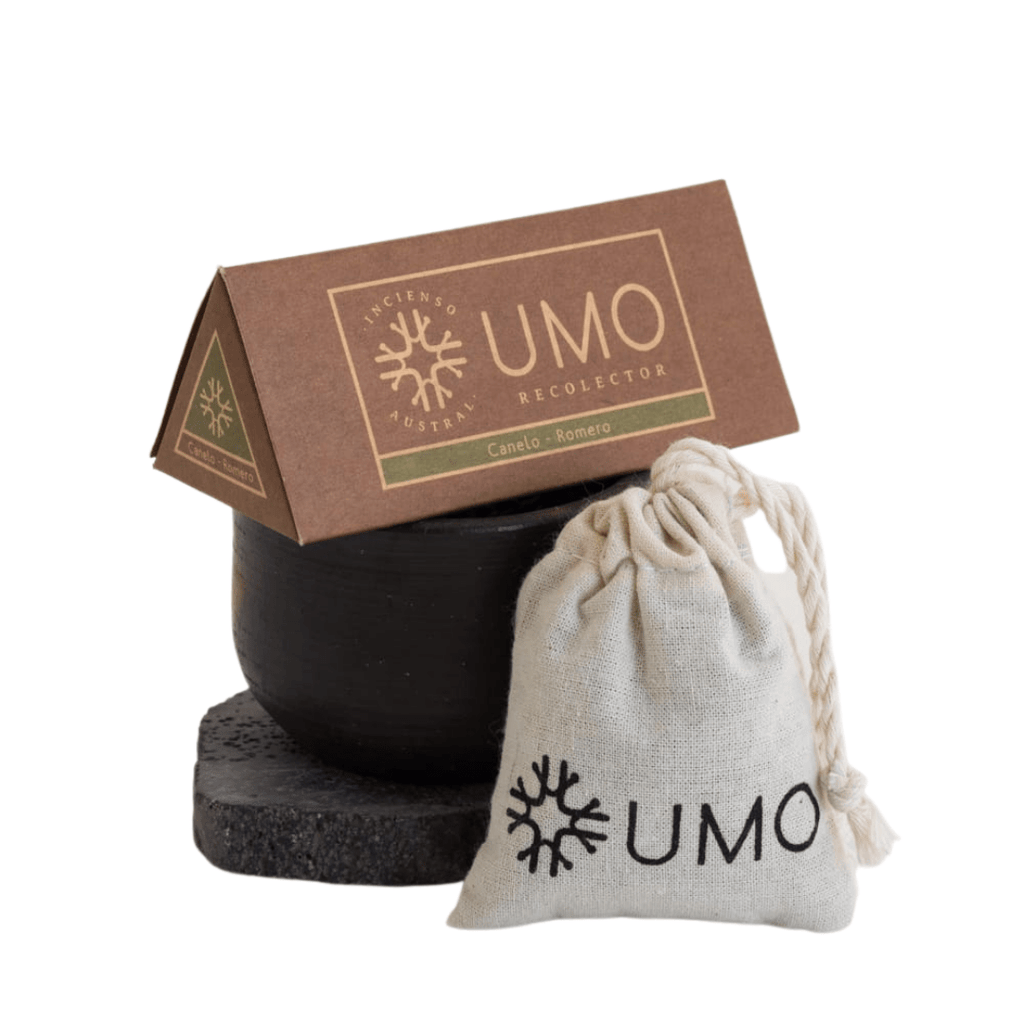 sustainable gifts Umo Recolector Sustainable natural incense kit - volcanic rock