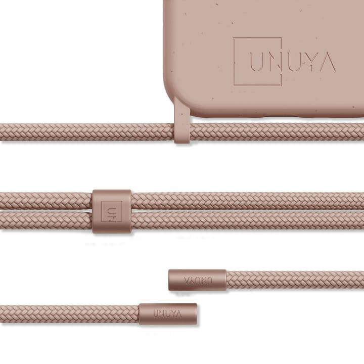 sustainable gifts Unuya Biodegradable iPhone case - nude + rope