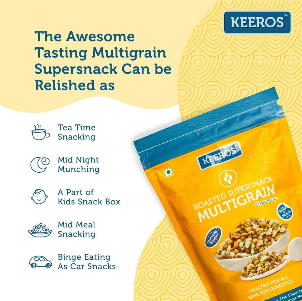 Load image into Gallery viewer, Keeros Multigrain Healthy Super Snack