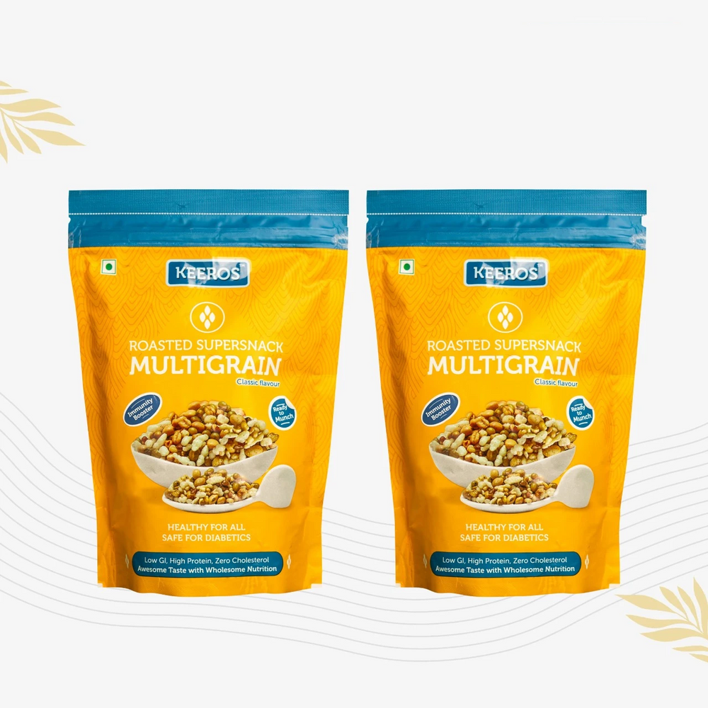 Lightly Salted Multigrain Roasted SuperSnack