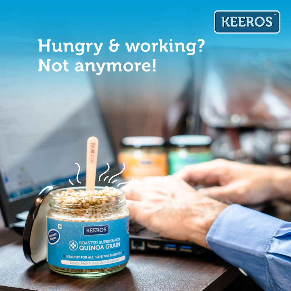 Load image into Gallery viewer, Keeros Healthy Roasted SuperSnack - Combo of 3 Jars (2x100g+150g)