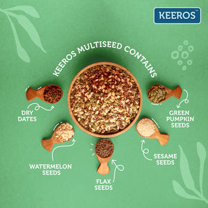 Load image into Gallery viewer, Keeros Multiseed and Multigrain Roasted Supersnacks (Combo of 450g + 400g)