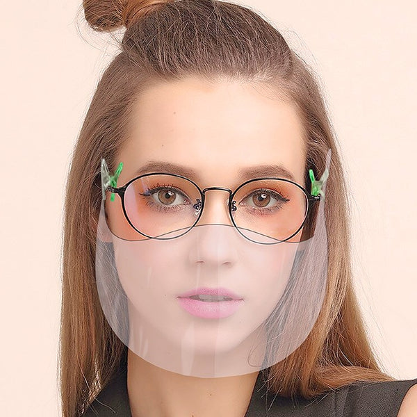 Face Shield -perfect for people wearing glasses
