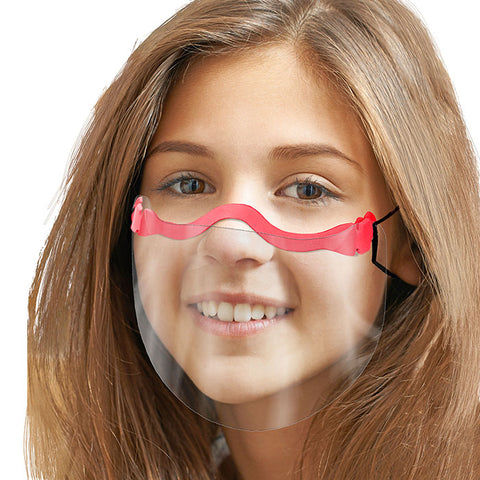 Kids - Face Shield - Adjustable - Ultra Light