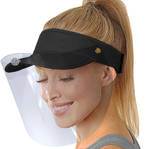 PEAK with removable visor that can be tilted or removed