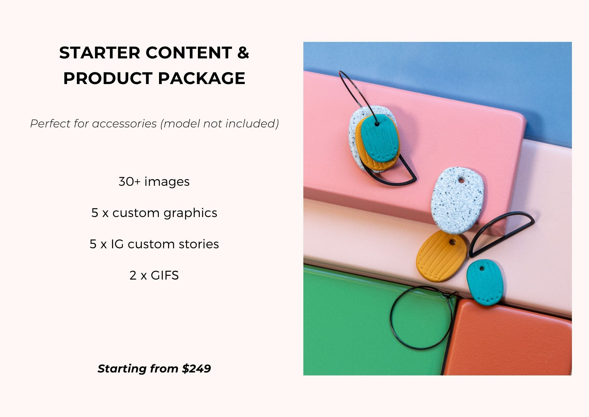 CONTENT & PHOTOGRAPHY PACKAGES