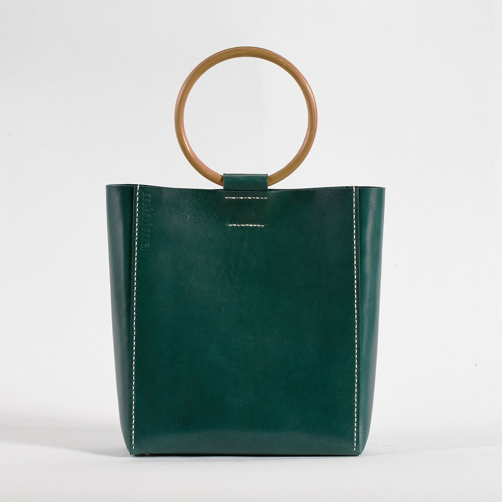 Ronda tote Agave Green - Public Store Australian Independent & Emerging Fashion Art Design