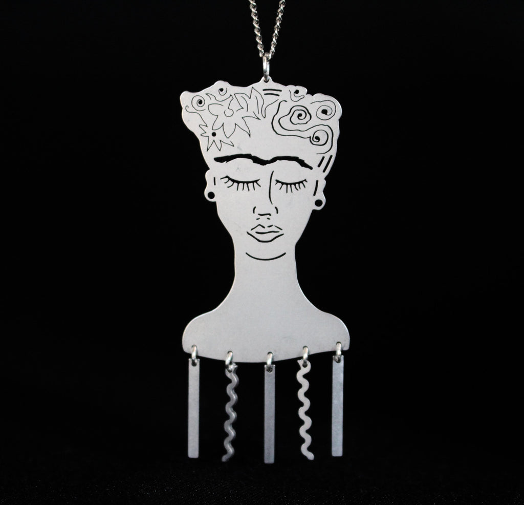 Frida Pendant - Public Store Australian Independent & Emerging Fashion Art Design
