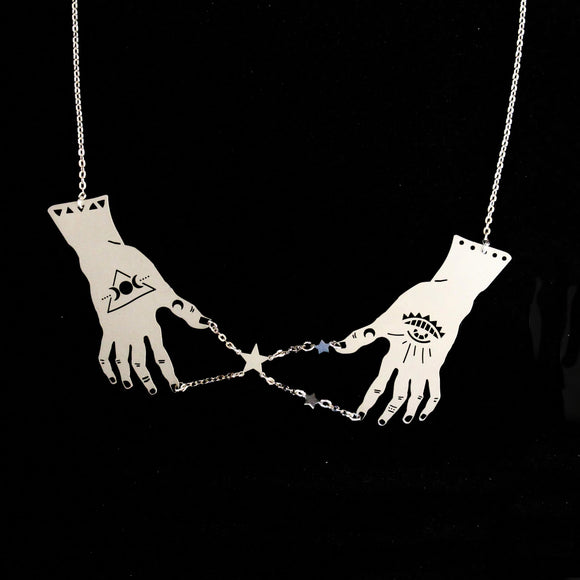 Magic Hand Necklace - Public Store Australian Independent & Emerging Fashion Art Design