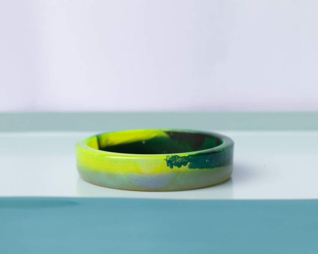 Neon Nights Eco Resin Slim Bangle