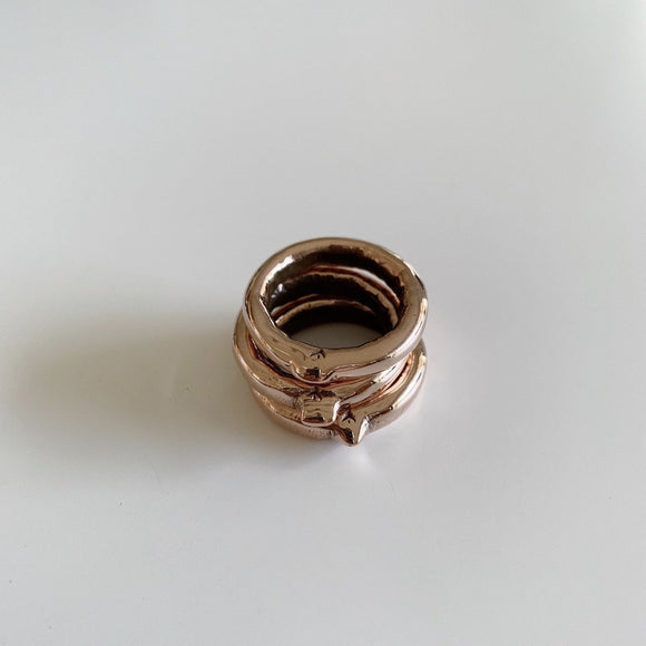 BONDING LOOPS IN SOLID COPPER - Public Store Australian Independent & Emerging Fashion Art Design
