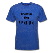 Load image into Gallery viewer, TRUST IN THE LORD Unisex Classic T-Shirt - mineral royal