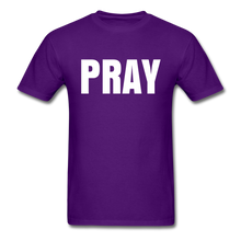 Load image into Gallery viewer, PRAY T-shirt - purple