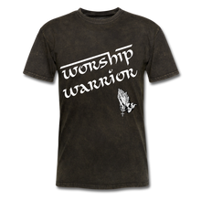 Load image into Gallery viewer, WORSHIP WARRIOR T-shirt - mineral black